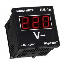 Вольтметр щитовой однофазный DigiTOP ВМ-1м